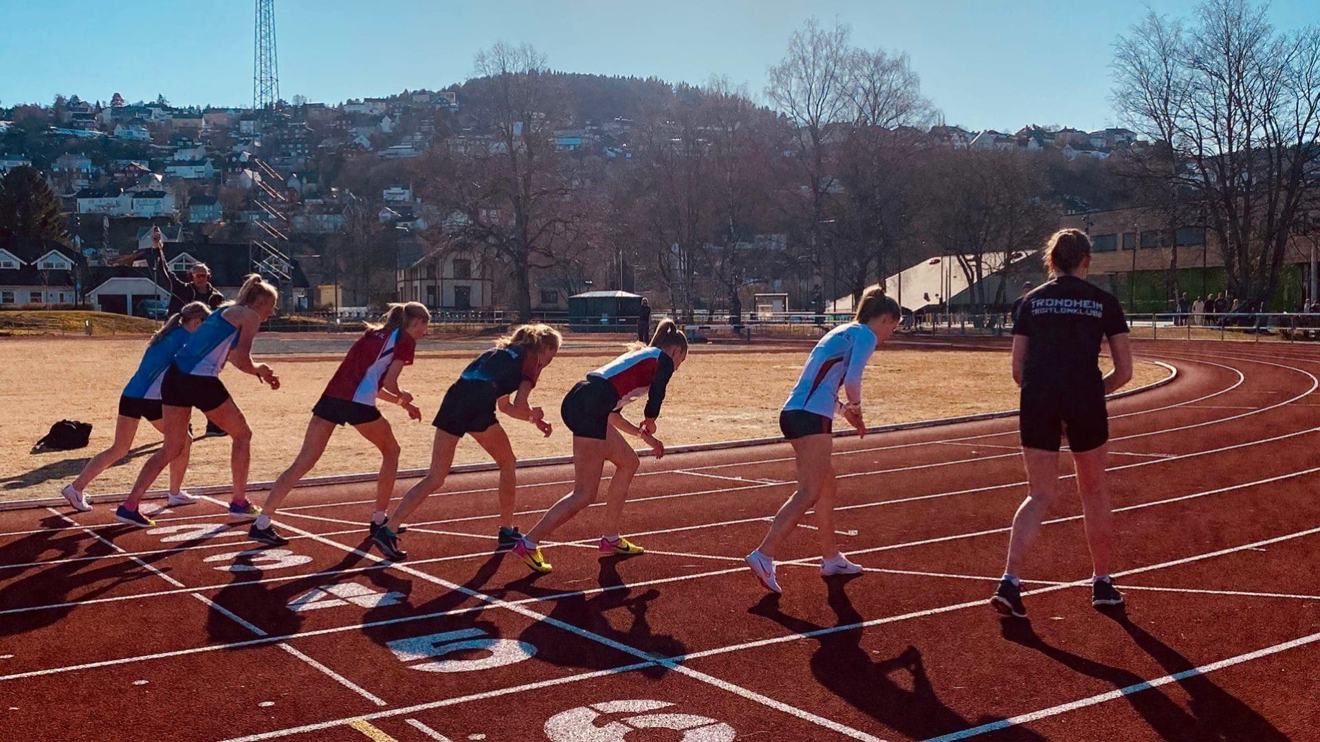 Ny klubbrekord på 3000 m for kvinner